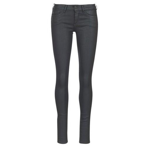 fd4f8c1c3676 Vêtements Femme Jeans skinny Pepe jeans PIXIE Noir u84