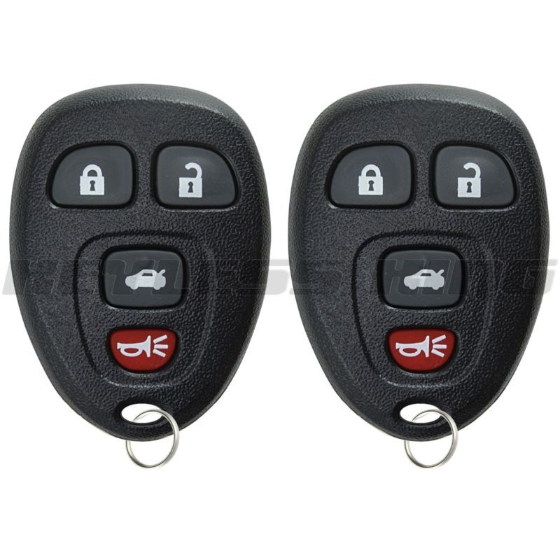 2 New Replacement Keyless Entry Remote Key Fob Clicker