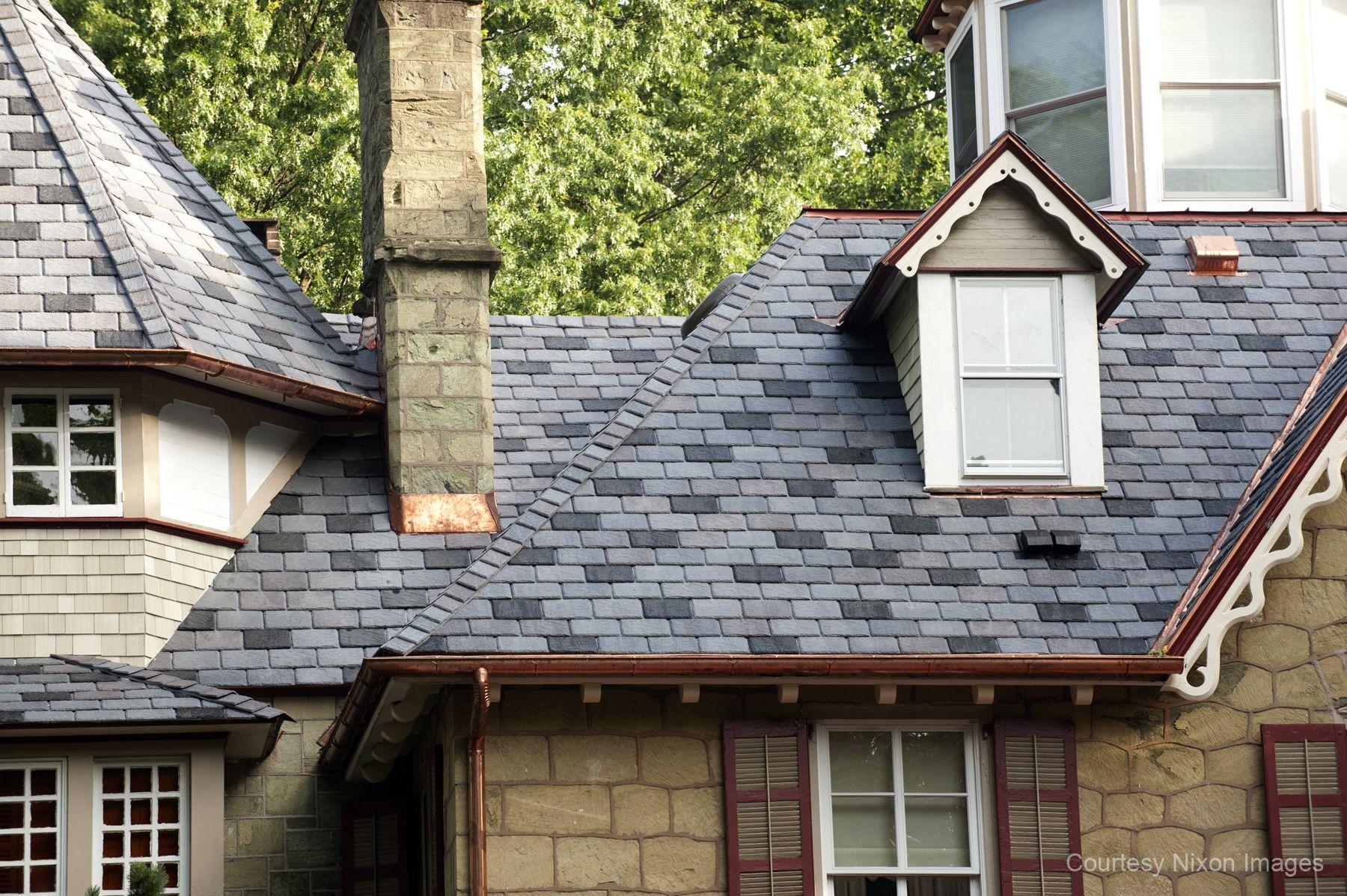 12 Benefits Of Synthetic Slate Roofing For Wayne Il Homes Synthetic Slate Roofing Roofing Slate Roof