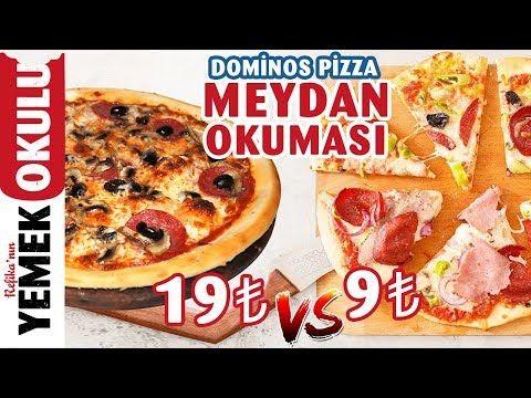 19 Tl Vs 9 Tl Dominos Pizza Meydan Okuması Refika Ile Evde Daha