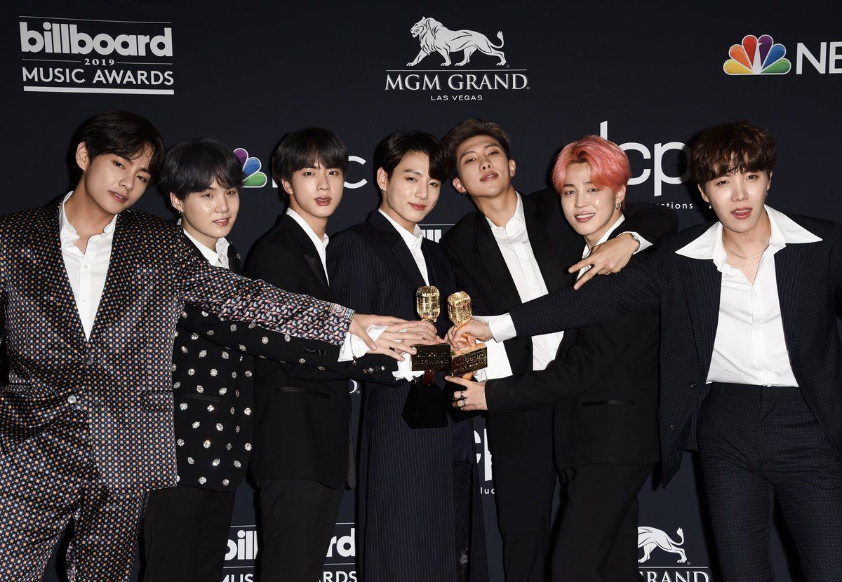BTS Had an Absolute Blast at the 2019 Billboard Music