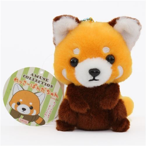 cute red panda plush toy from Japan 1