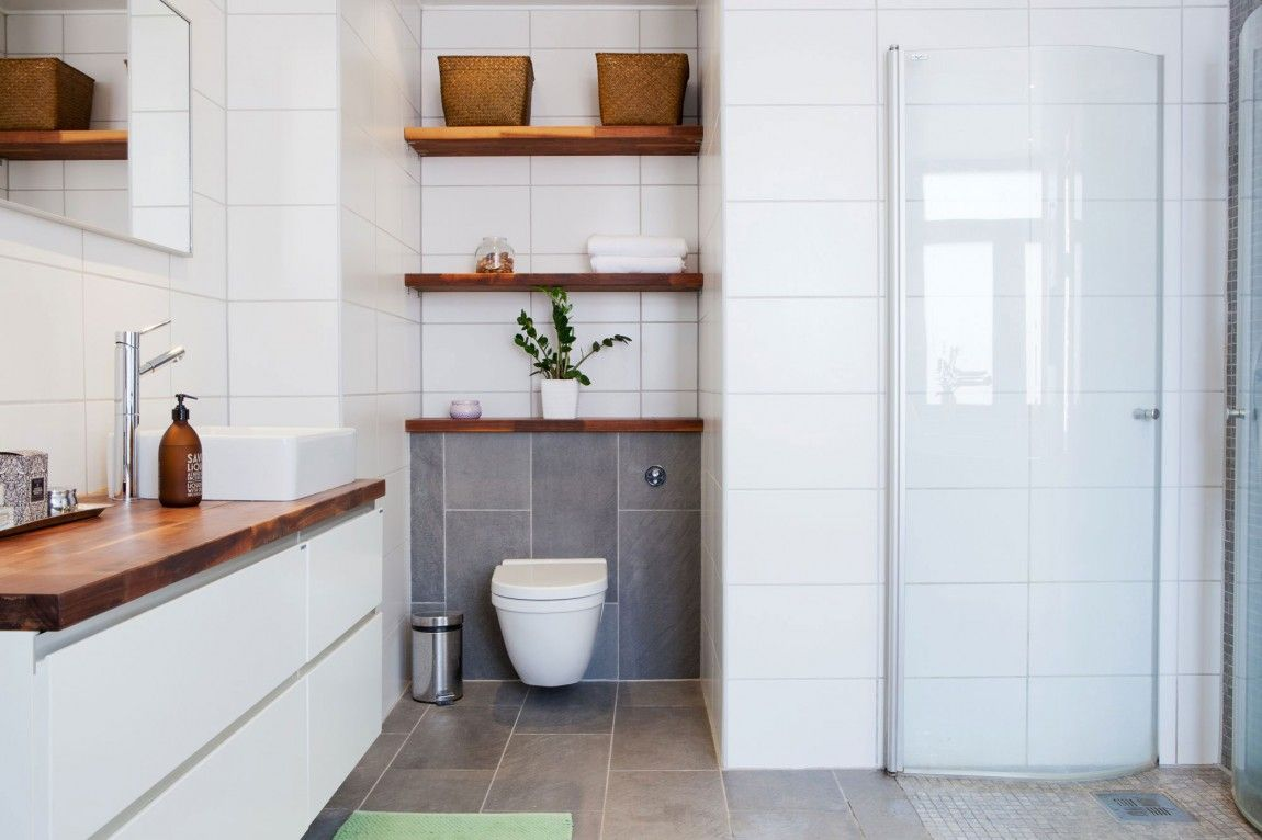 Baldas de madera espacios especiales pinterest madera blanca madera y espacios - Baldas de madera ...