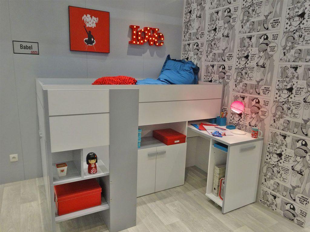 C Mo Decorar Una Habitaci N Juvenil A La Ltima Habitaci N  # Muebles Funcionales