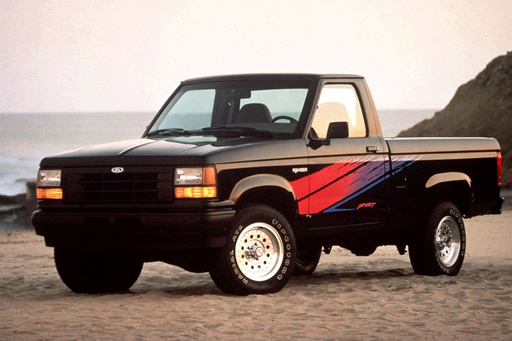 Exclusive 1990 92 Ford Ranger Review From Consumer Guide Auto