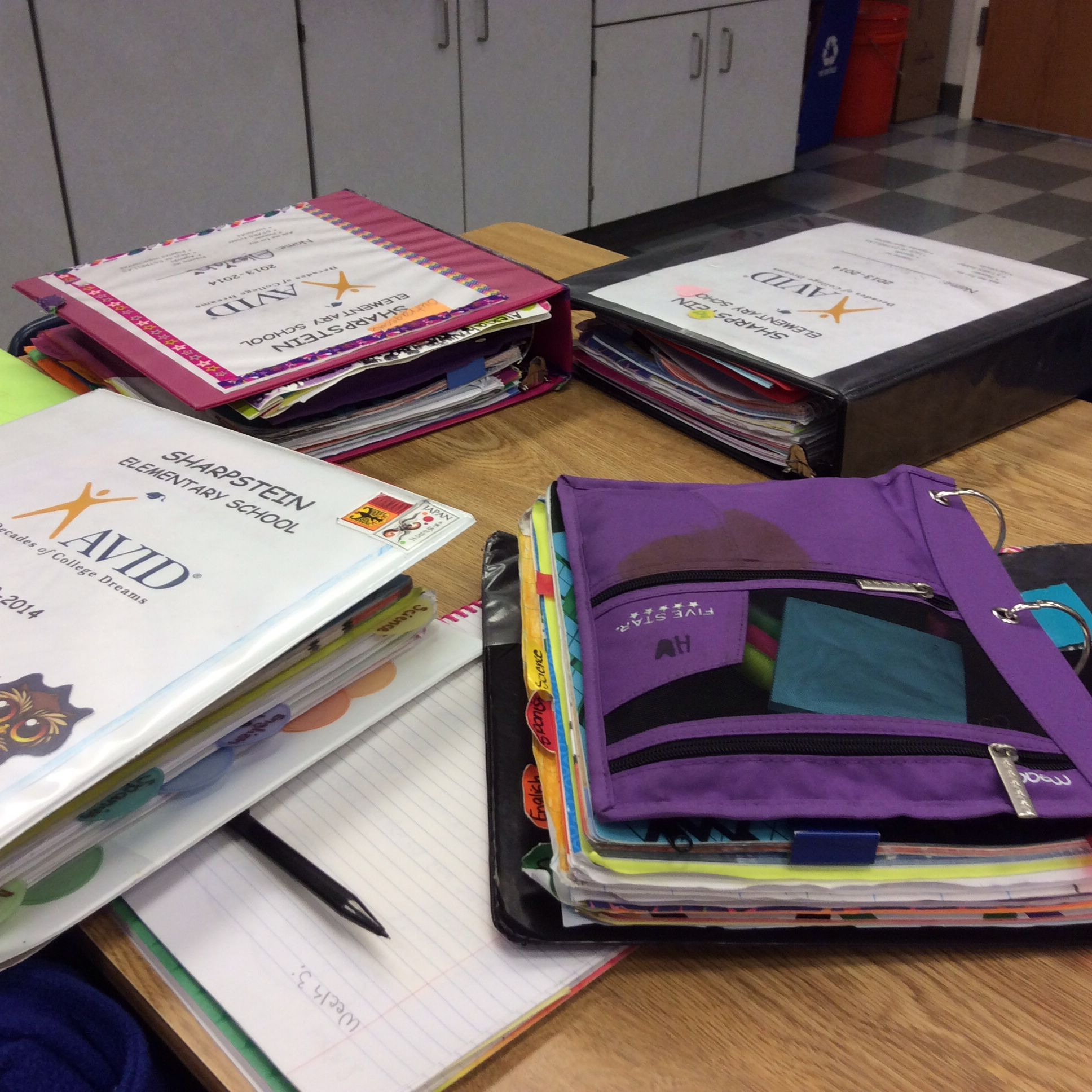 Fifth Grade AVID Elementary 3ring Notebooks. (With Images