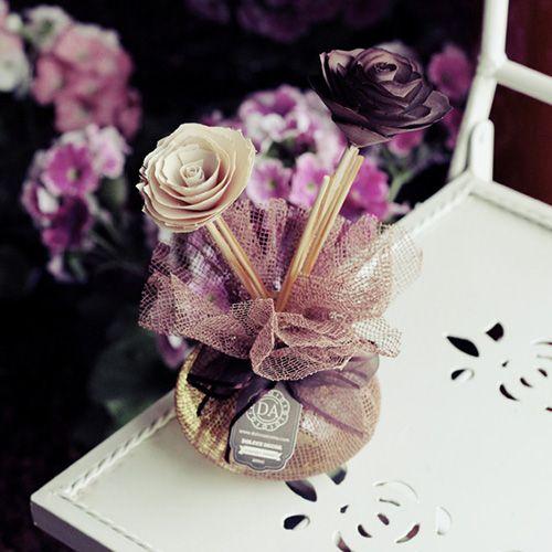 Flor De Madeira Com Vareta Para Difusor Com Imagens Como Fazer