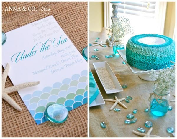 Under the sea party this would be a perfect bridal shower for my under the sea party this would be a perfect bridal shower for my friend crystal filmwisefo