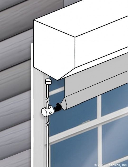 Oasis® 2700 Exterior Sun Shades Cable Guide   Shades   Pinterest ...