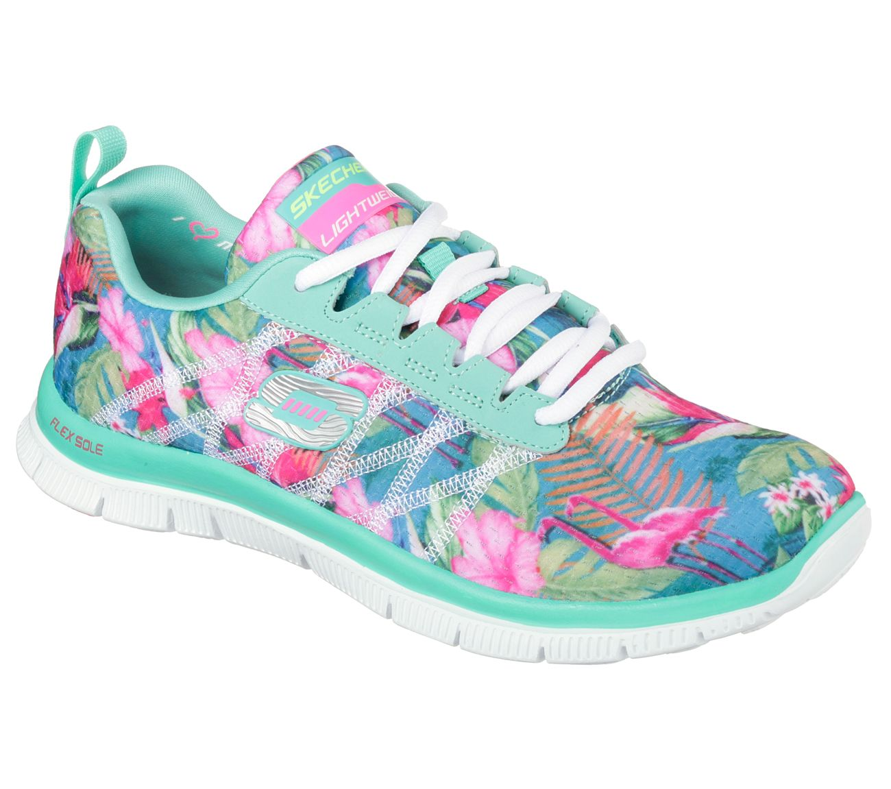 f9cbee06375f Buy SKECHERS Flex Appeal - Floral BloomTraining Shoes Shoes only  72.00