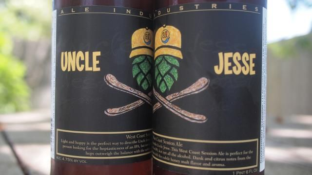 Beer of the Week: Ale Industries Uncle Jesse Session IPA