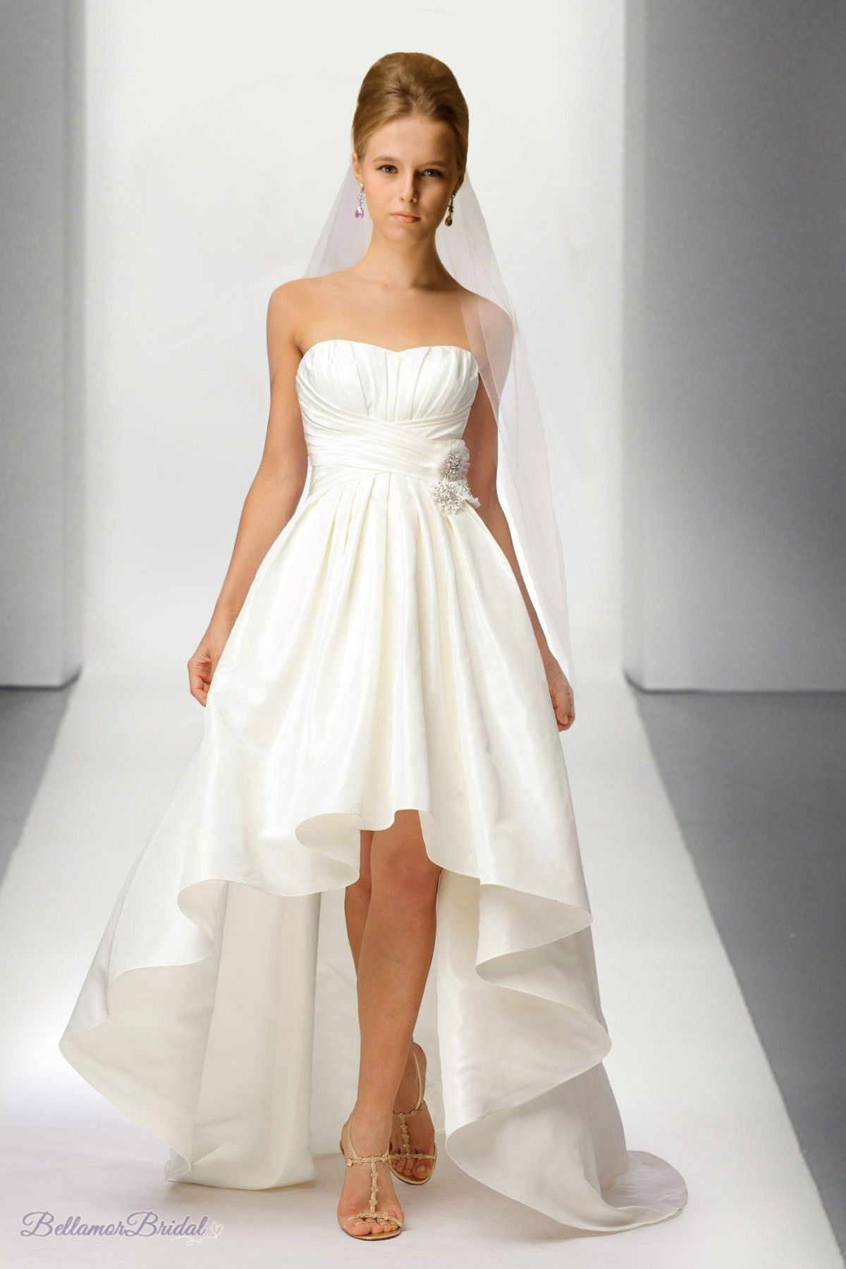 High Low Wedding Dress Beach Wedding Dress Yes I M A Cliche But
