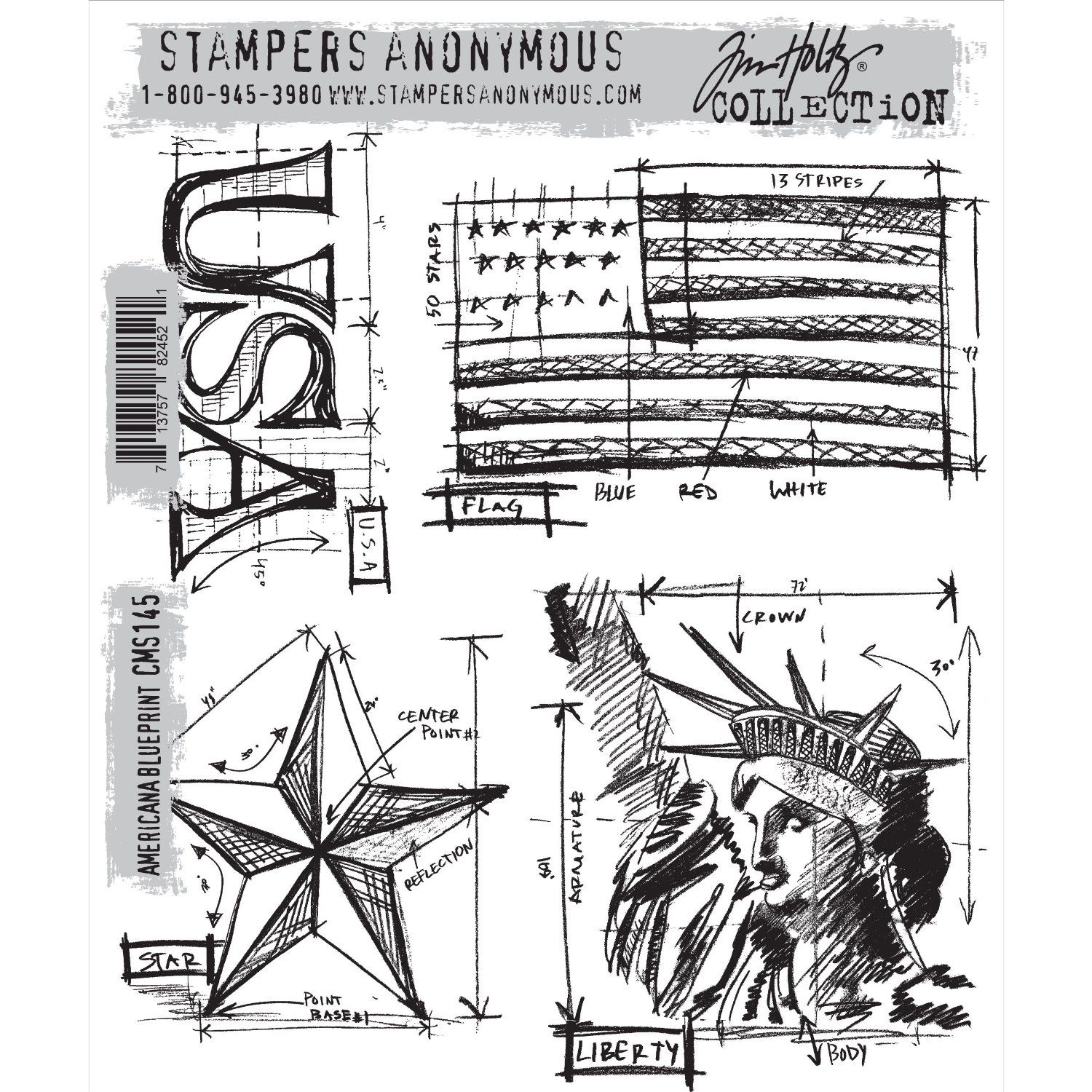 Amazon stampers anonymous tim holtz cling rubber stamp set 7 amazon stampers anonymous tim holtz cling rubber stamp set 7 by 85 malvernweather Gallery