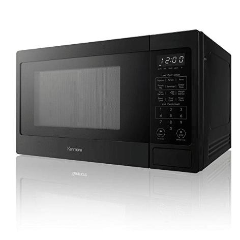 Kenmore 70919 Countertop Microwave 0 9 Cu Ft Black Now 39 99