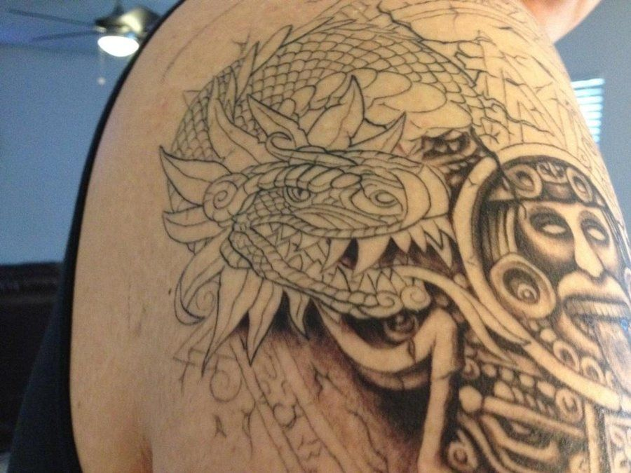 Aztec Tattoos and Designs| Page 77 | Aztec Tattoo Art ...