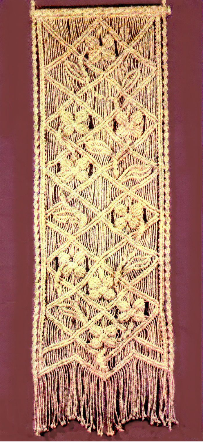 macrame wall hanging tutorial … | Pinteres…