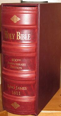 1611 King James Bible First Edition Facsimile Reproduction