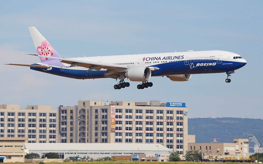 China Airlines Fleet Boeing 777 300er Details And Pictures China