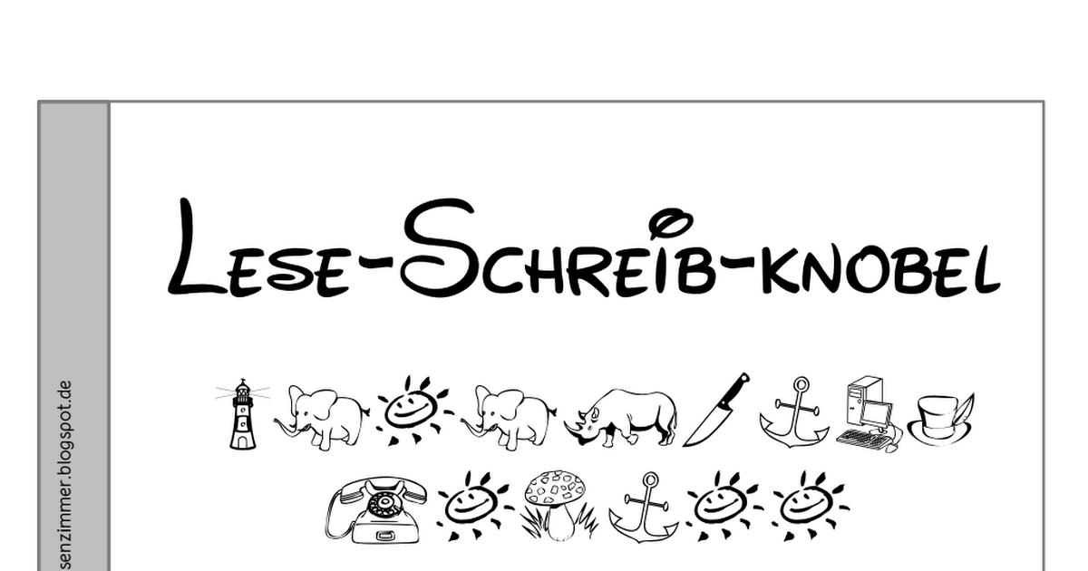 Lese-Schreib-Knobel.pdf | Denkfabrik | Pinterest | Mathe ...