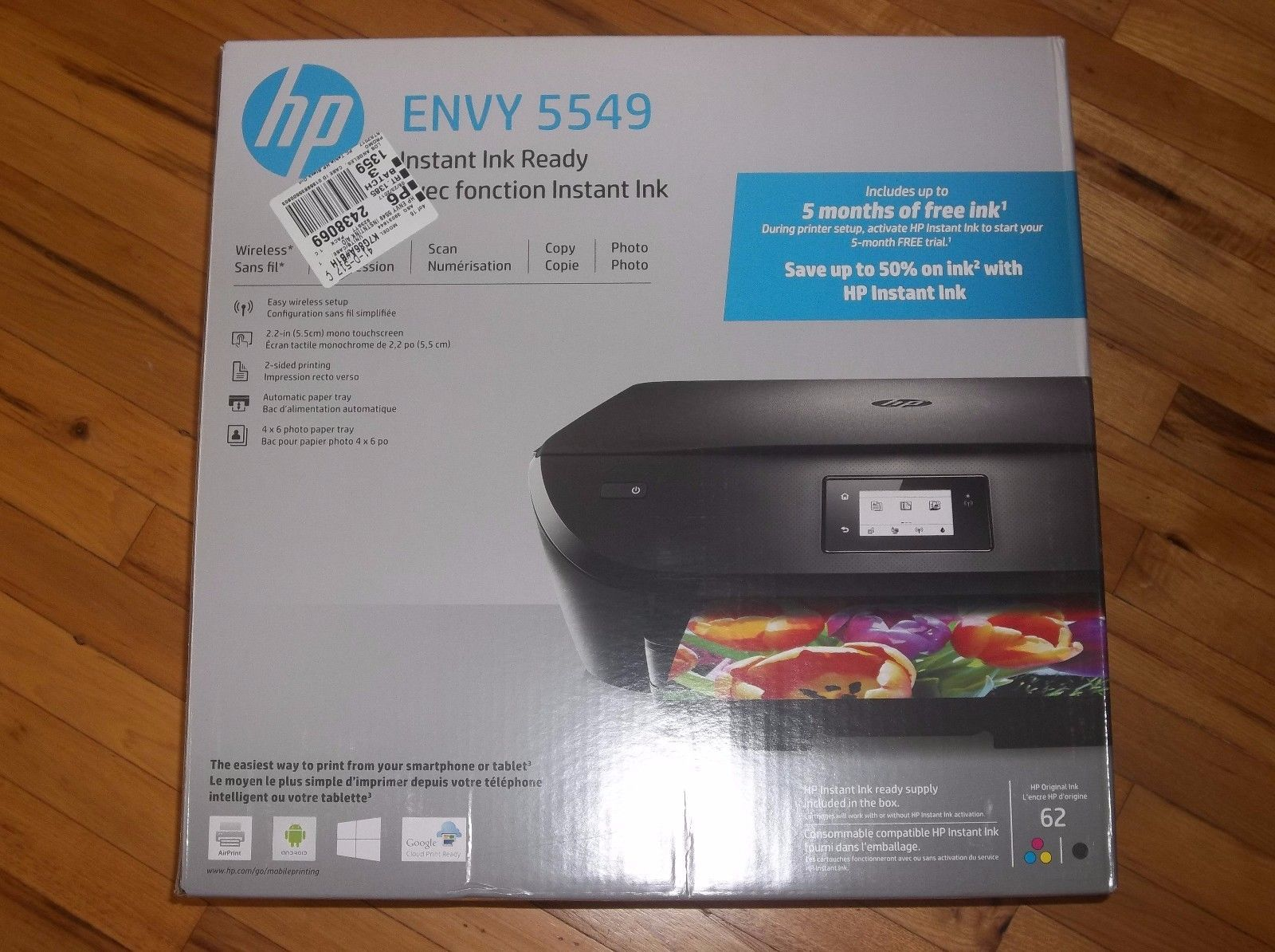 Hp envy allinone wireless inkjet color photo printer with