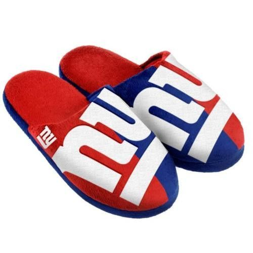 ad32b006 New York Giants Unisex Split Color Slide Slippers | Products | Nfl ...
