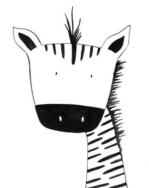 Черно-белые картинки для срисовки (с изображениями ...