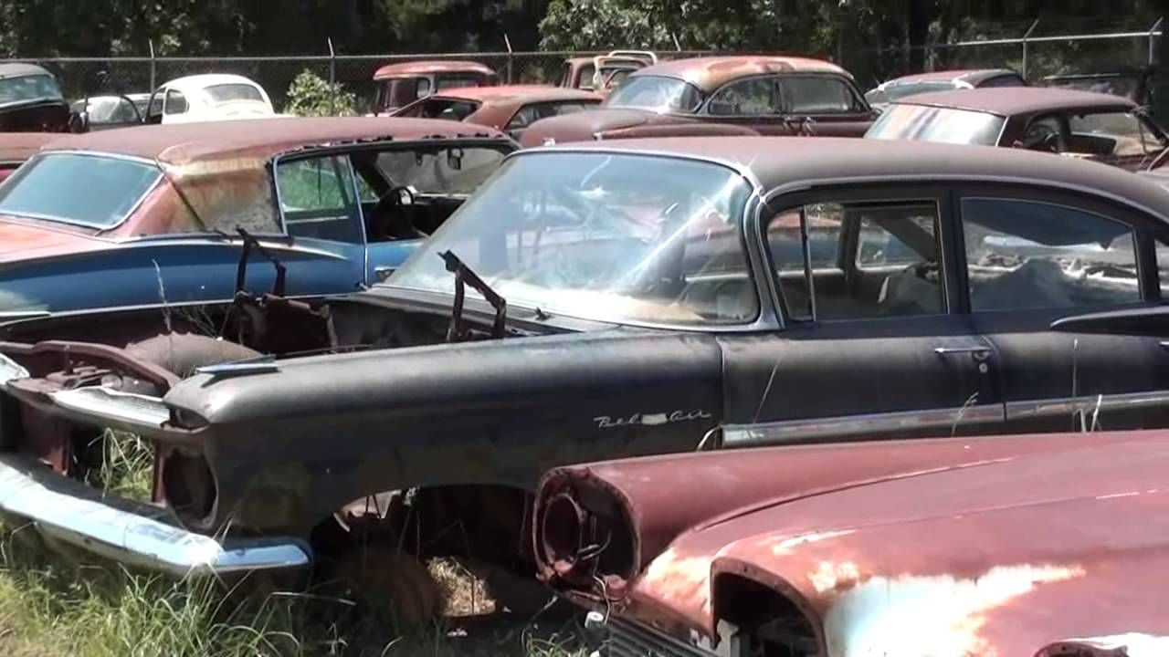 Gearhead Field Of Dreams Antique Car Salvage yard