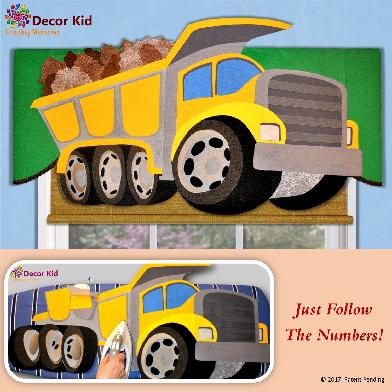 Diy valance kit nosew truck window valance just follow