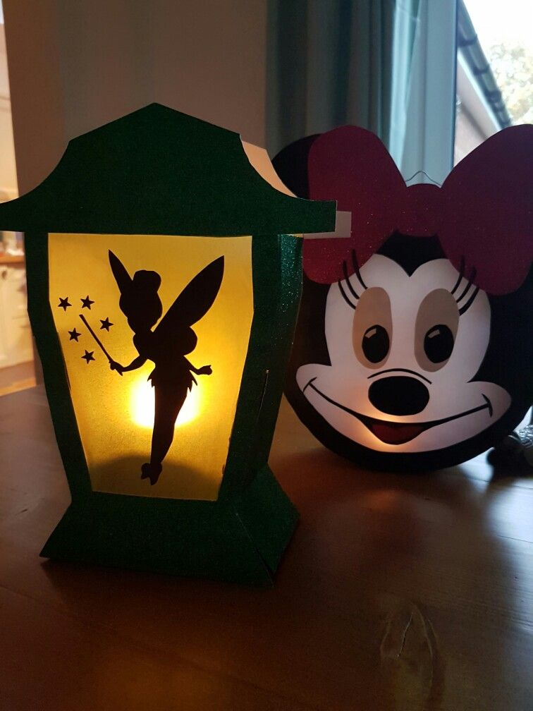 Sankt Martin Laterne Disney Inspiriert Tinkerbell Und