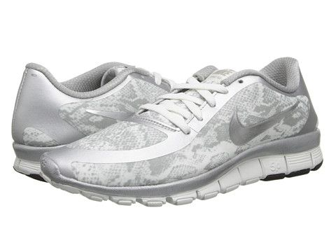 Nike free 5 0 v4 metallic silver at 6pm.com