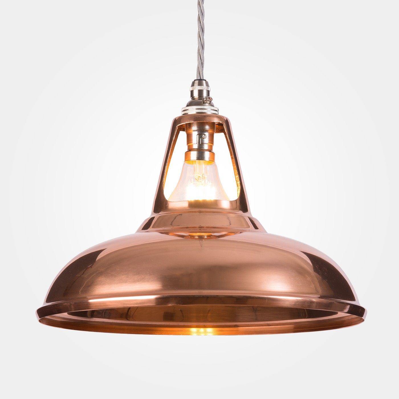 Coolicon Industrial Copper Pendant Light