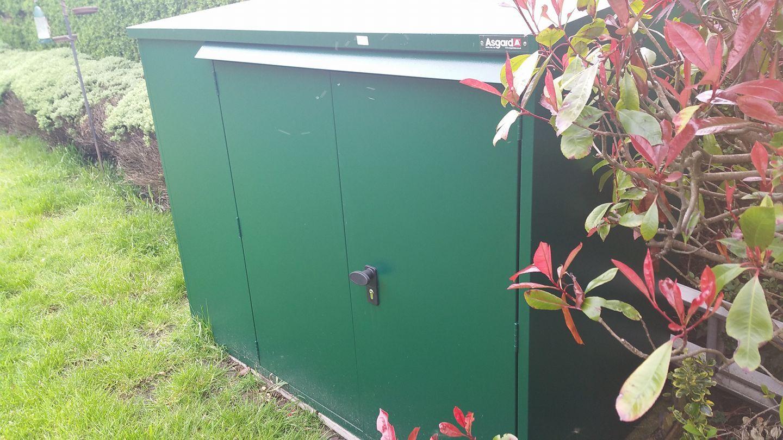 6x3 Addition Metal Shed 3 Point Locking | Addition Metal Garden