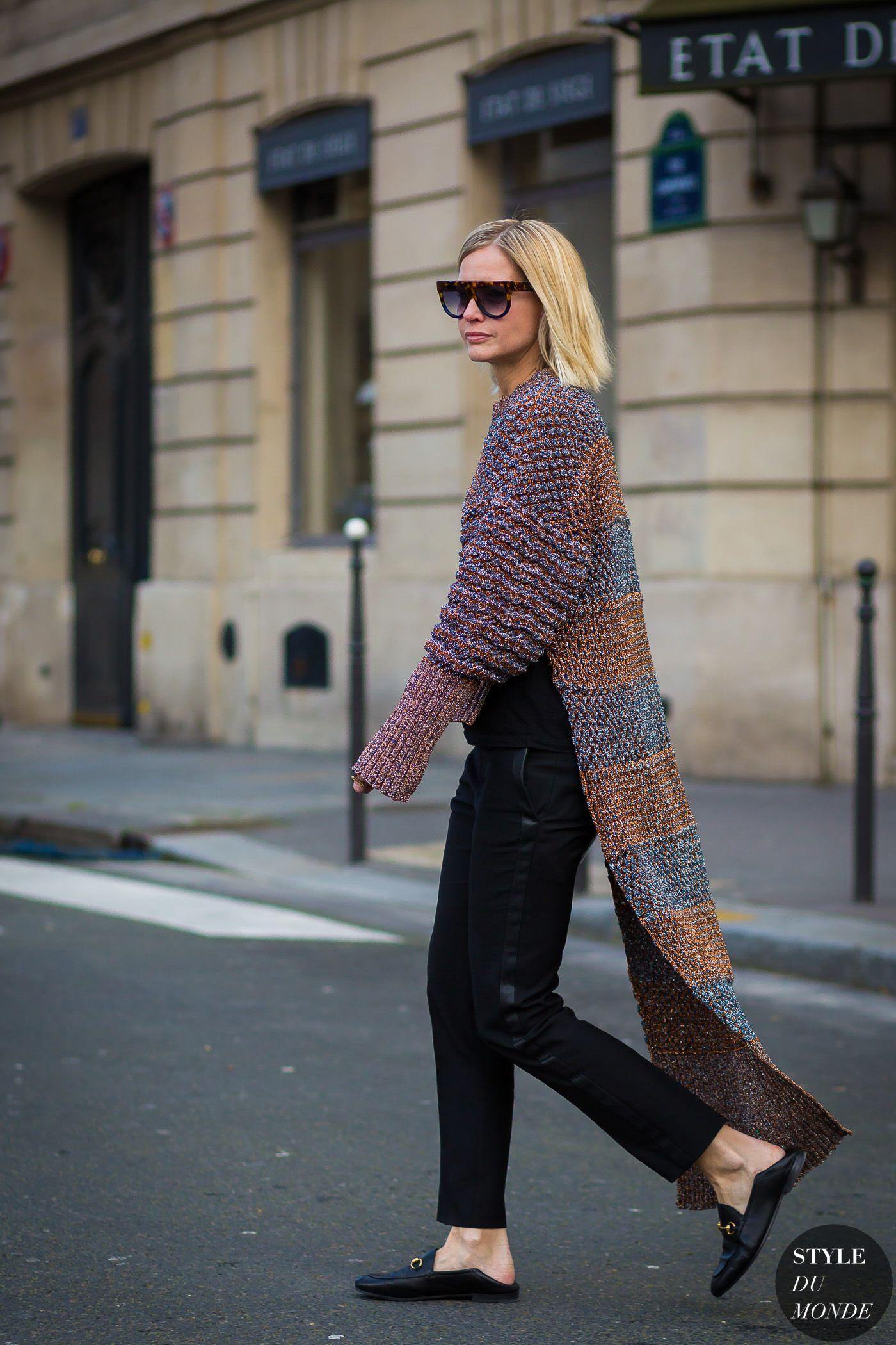 Paris Fashion Week FW 2016 Street Style: Holli Rogers