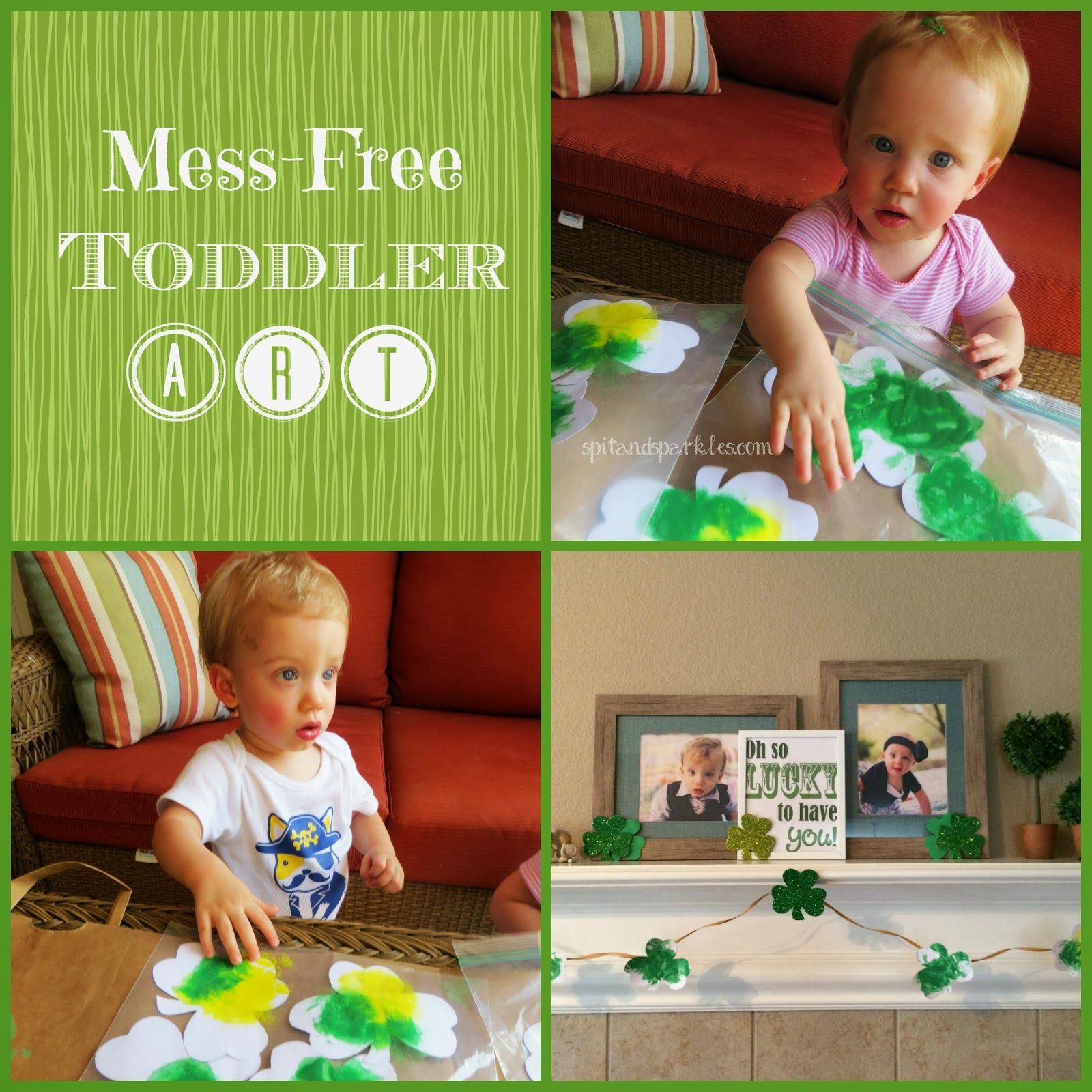 Create A Mess Free Art Activity For Your Toddler By