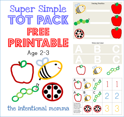 toddler preschool homeschool simple easy two 2 three 3