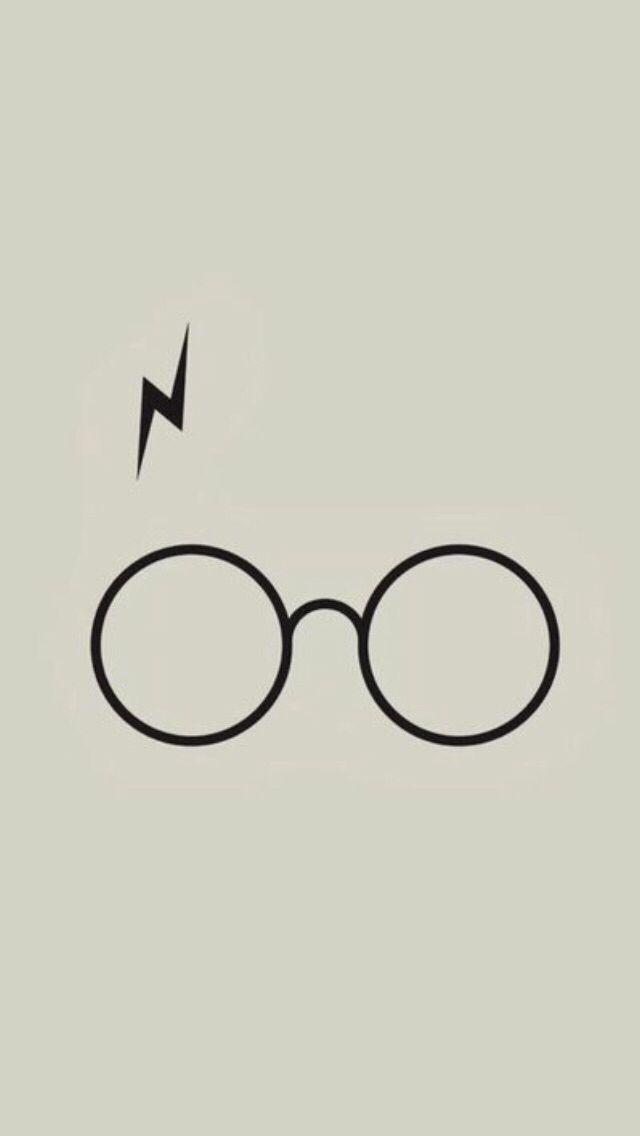 5ef14c2afca1f Harry Potter glasses wallpaper   harry potter in 2019   Pinterest ...