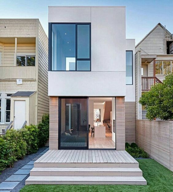 50 Small Two-storey House Designs That Can Be Fitted In