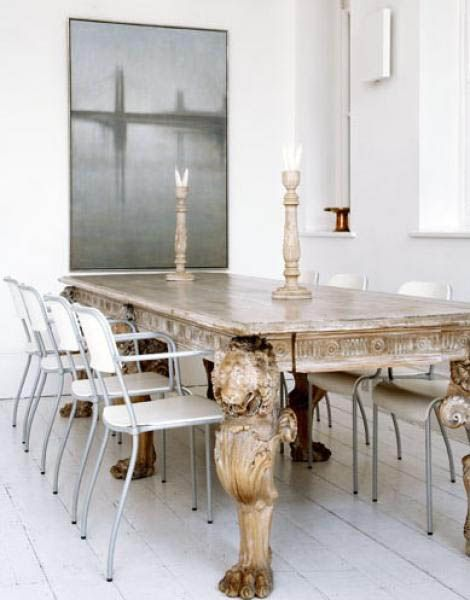 Lion Leg Dining Table