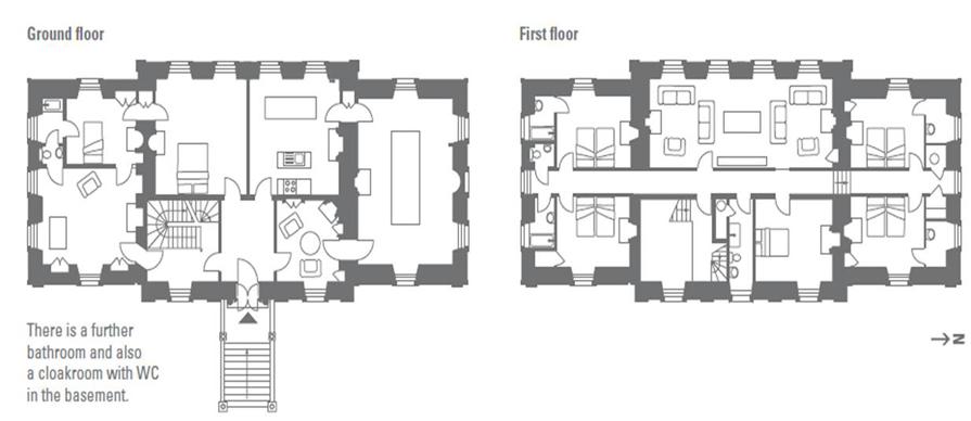 Auchinleck House Ochiltree Ayrshire Vintage House Plans Floor Plans House