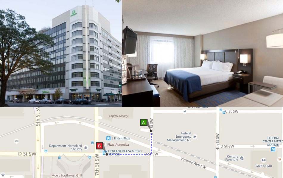 Why Holiday Inn Is The Best Hotel Near Smithsonian Metro People Like Area Rates Parking Internet Fees Shuttle