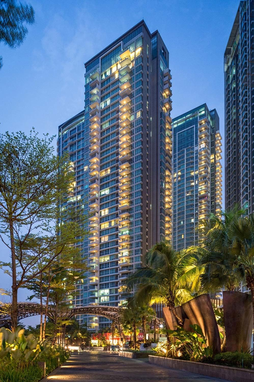 Kemang Village Apartments A Mix Used Developement By Lippo Designed Dpa Singapore