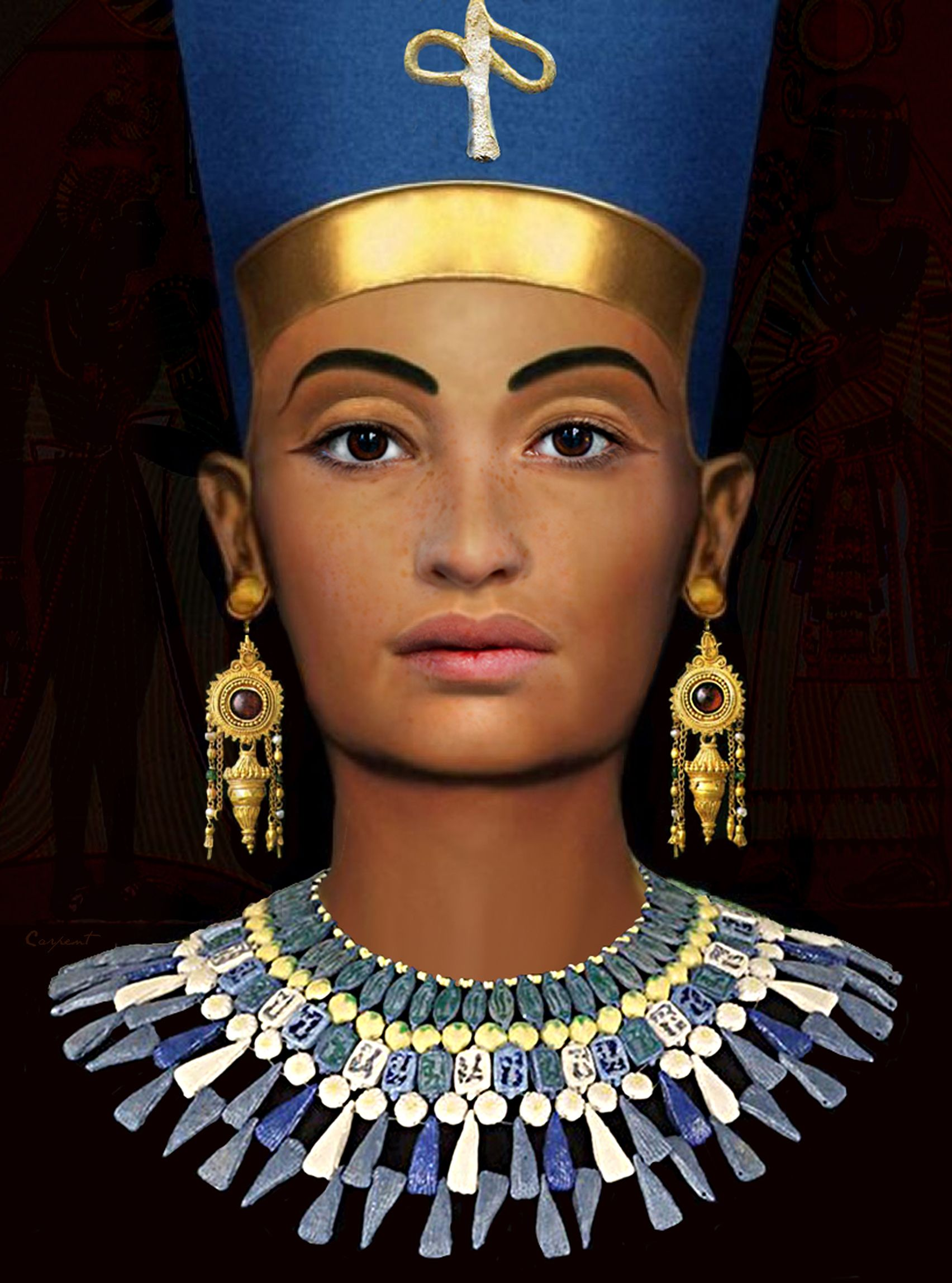 Eyeshadow Tut: Pharaoh Tutankhamun's Wife, Queen Ankhesenamun(1348-1322