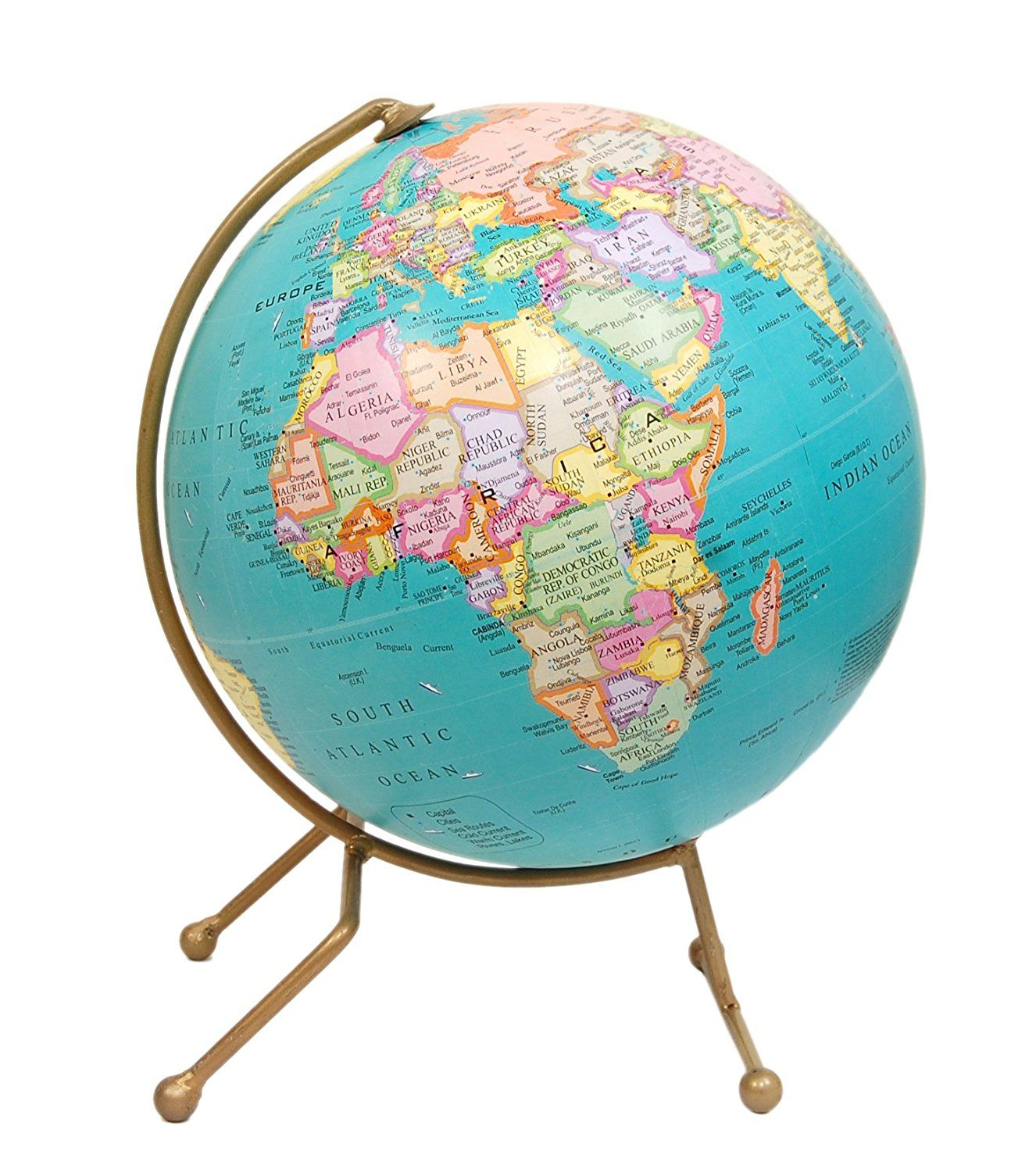 Amazon globes antique vintage handcrafted 10 inch world map amazon globes antique vintage handcrafted 10 inch world map globe gift gumiabroncs Image collections