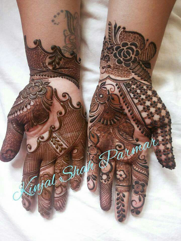 13 Unique Henna Designs Doing The Rounds This Wessing: Unique Mehndi Designs Image By Âfârã Ãbîth📌 On My Fav