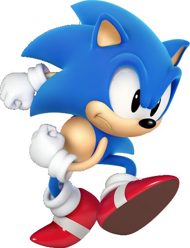 Image From Http Images4 Fanpop Com Image Photos 21600000 Classic Sonic In 3d Sonic The Hedgehog 21612293 388 506 Png Sonic Generations Sonic Classic Sonic