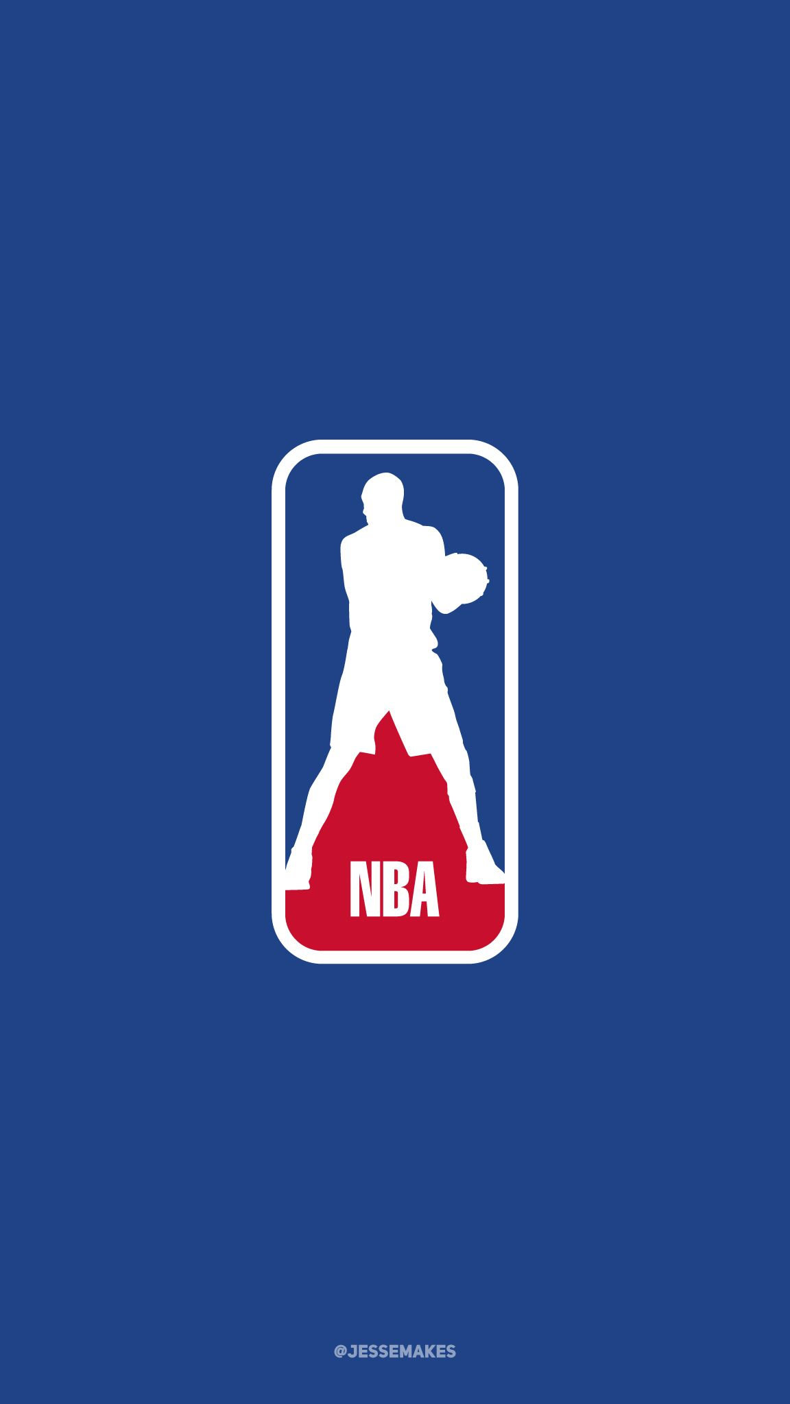 Tim Duncan As The Nba Logo Nba Logo Nba Nba Wallpapers