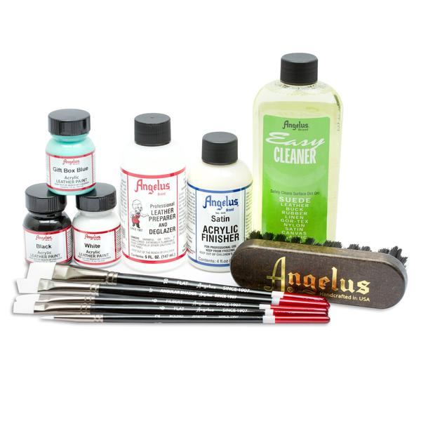 Starter Kit Leather Paint Painting Leather Painted Shoes
