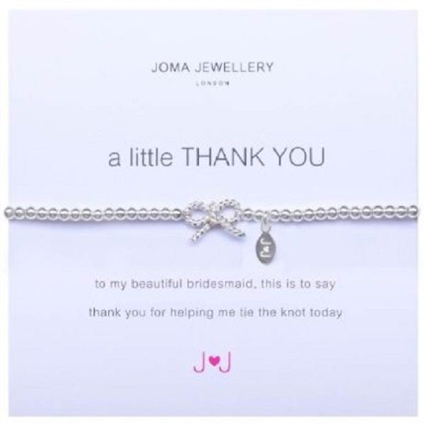 d24b3b0b3f A Little Thank You Bridesmaid Bracelet Joma Jewellery £10.99 FREE delivery