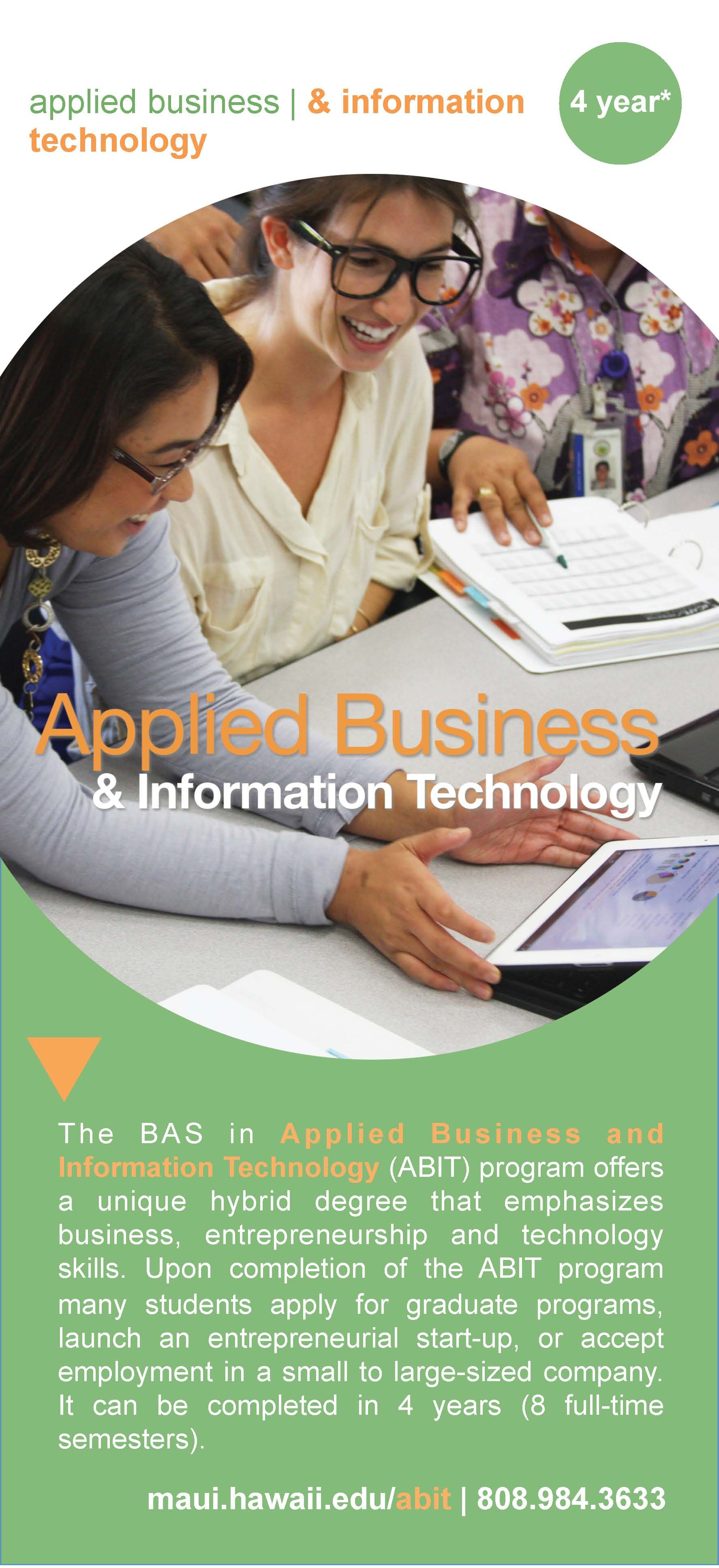 Applied Business Information Technology Technology Skills Computer Science Engineering Information Technology