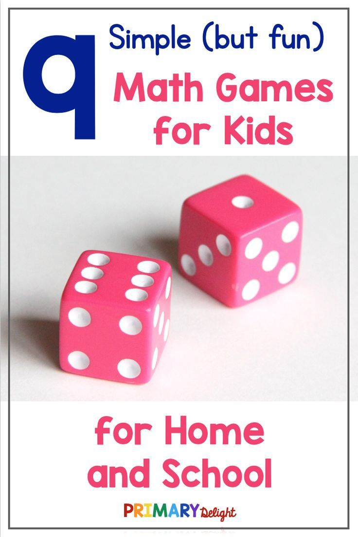 Photo of 9 Simple But Fun Math Games for Kids – Primary Delight